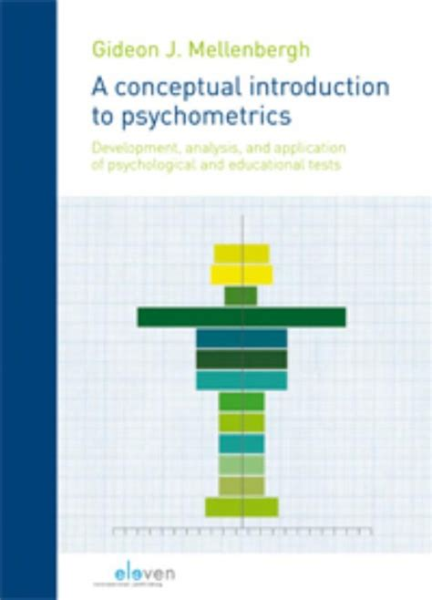 psychometrics an introduction books bureau isbn a conceptual introduction to psychometrics