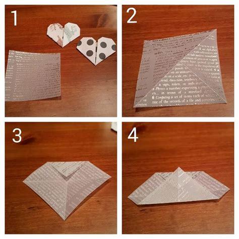 tutorial origami corazon m 225 s de 25 ideas fant 225 sticas sobre corazones de origami en