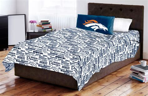 denver broncos bedroom denver broncos bed set nfl denver broncos football bed