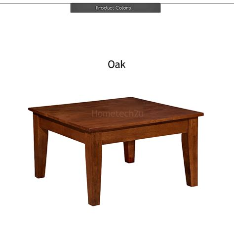 Rubber Wood Desk by Square Japanese Table Living Room Coffee Table