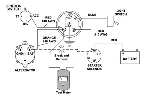marine ammeter wiring diagram wiring diagram with