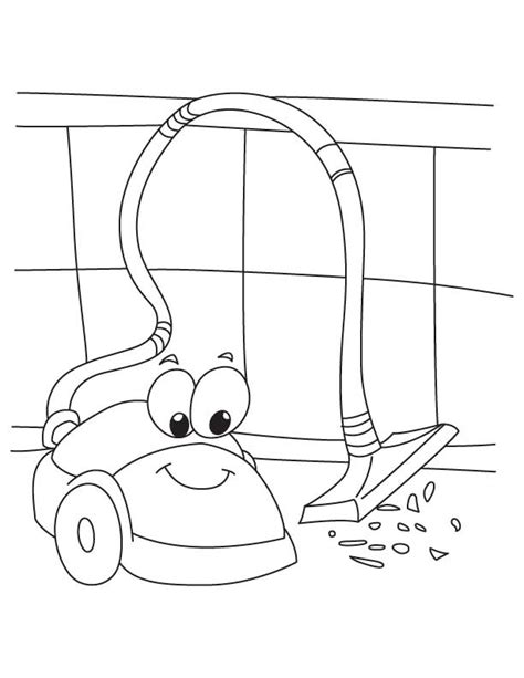 coloring pages vacuum cleaner electronics coloring page crafts and worksheets for
