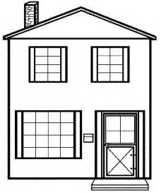 house colouring kids under 7 houses and homes coloring pages