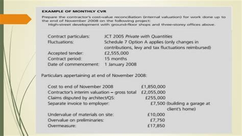 cvr report template cost value reconciliation cvr
