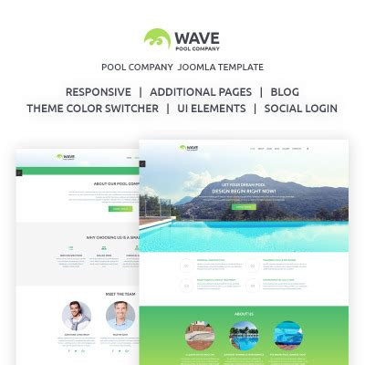 lotus wave themes html bootstrap maintenance services templatemonster