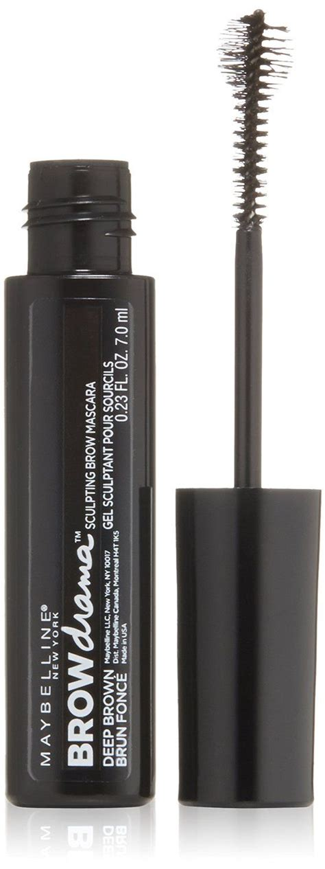 Maybelline Brow Drama Mascara maybelline brow drama sculpting brow mascara reviews