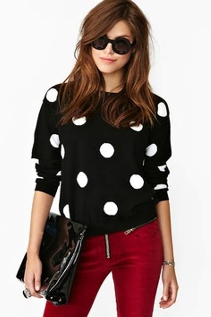 7 Ways To Wear Polka Dots by Picture Of Ways To Wear Polka Dot Clothing At Office 13