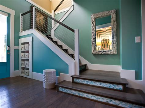 entryway stairs photo page hgtv