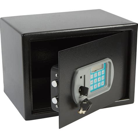electronic floor shelf safe with lcd keypad and easymatic