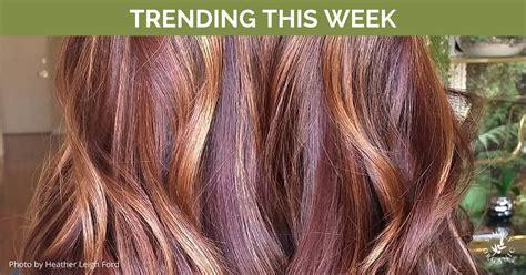 trending hair color trending hair colors this week with formulas simply