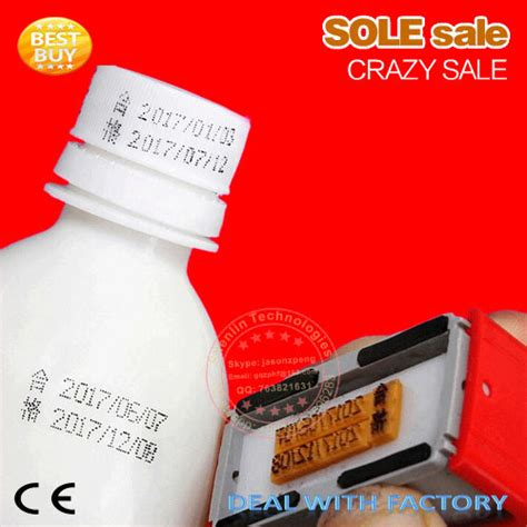 aliexpress buy expiration number printer production