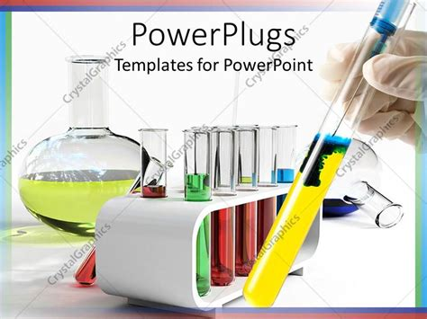 chemistry test tube templates for powerpoint presentations powerpoint template lots of test tubes and a flaskin a