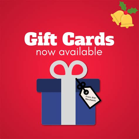 Gift Cards Available - treat someone this christmas bhc builders merchants