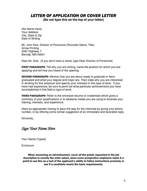 resume cover letter without address - Resume Without Cover Letter