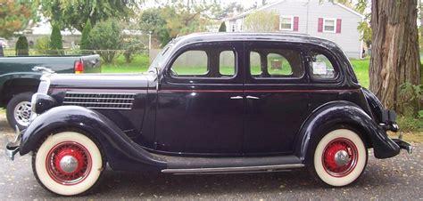 Red Door Paint by 1935 Ford 48 Slantback 4 Door Sedan 139096