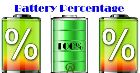 check battery percentage  android devices android officer