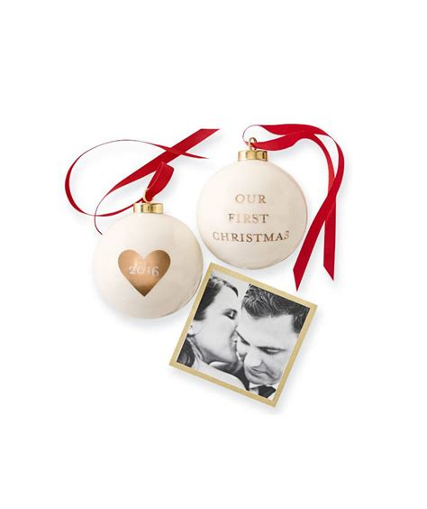 2016 ceramic ornament our first christmas gifts for