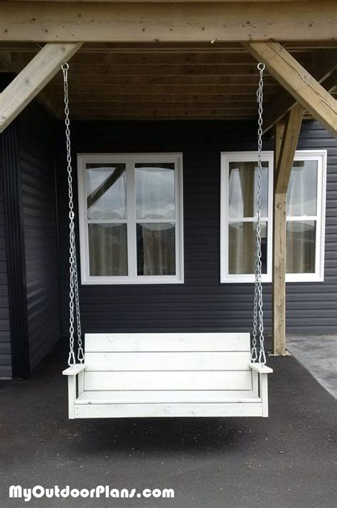 free woodworking plans for a porch swing