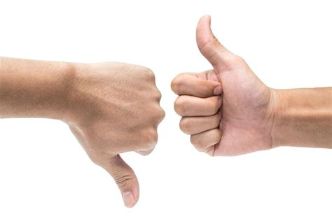 downward voice voice of the southern thumbs up thumbs opinion voice of the southern