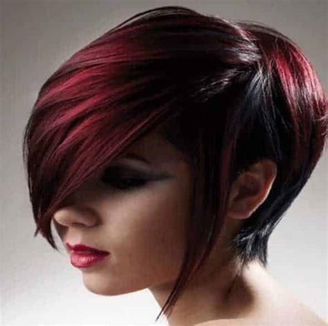 imagenes de tintes con rayos de color rojo mechas rojas tendencias 2017 2018 161 fotos e ideas