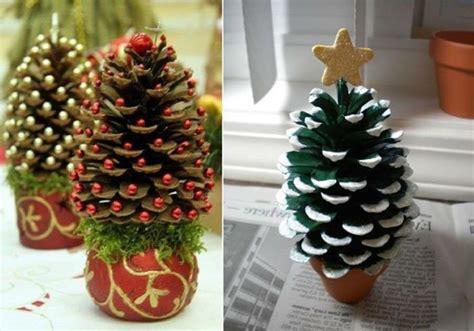 tischdeko weihnachten zapfen 1001 ideen f 252 r deko mit tannenzapfen zum erstaunen