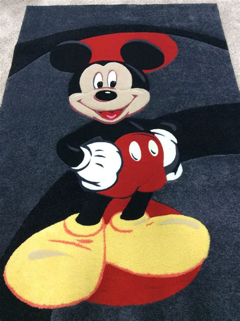 Mickey Mouse Area Rug Mickey Mouse Area Rug New Disney Character Mickey Mouse Area Throw Accent Rug 44 Quot X 31 Mr