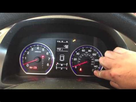 honda crv civic turn  maintenance required light   turn  maintenance required light