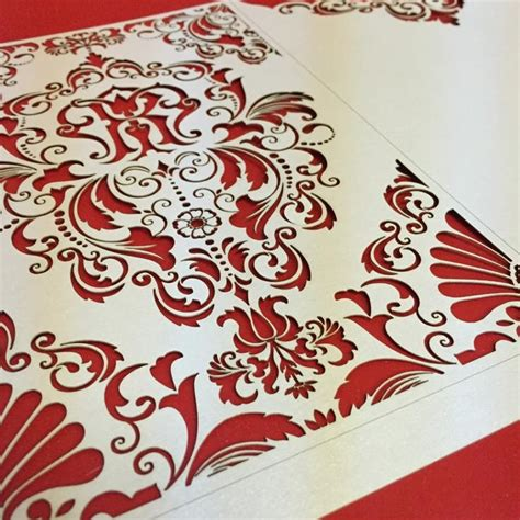 pattern paper next day delivery laser cutting 2point5