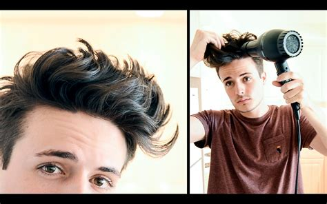mhaircuta to give an earthy style mens hairstyle messy textured beachy hair tutorial