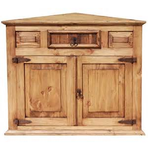 Beveled Kitchen Cabinet Doors Rustic Pine Collection Corner Cabinet Com10