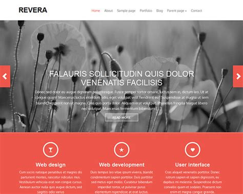 bootstrap themes free wedding revera free wordpress bootstrap theme themeshaker com