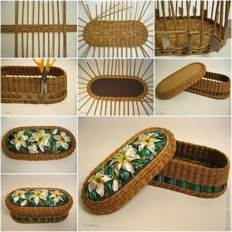 How To Make A Woven Basket Out Of Paper - 25 best ideas about paper basket on newspaper