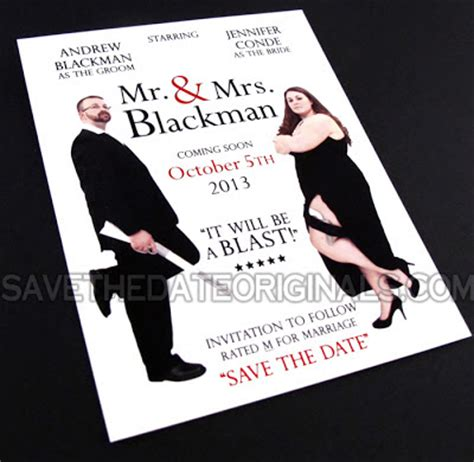 mr and mrs smith wedding invitations save the date originals mr mrs save the date
