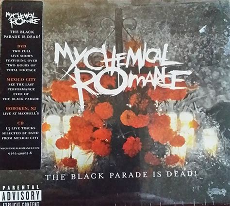 Dvd Import My Chemical Performances the black parade is dead live in mexico city dvdcd by my