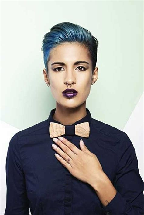 short black hairstlyes women butch blue black hair tips and styles dark blue hair dye styles