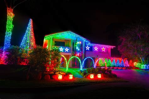 best brisbane suburbs for light displays brisbane