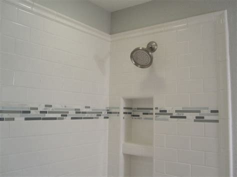 Bathroom Tile Trim Ideas Awesome 30 Tiled Shower Edge Decorating Design Of How Did You Finish The Edge In The Shower