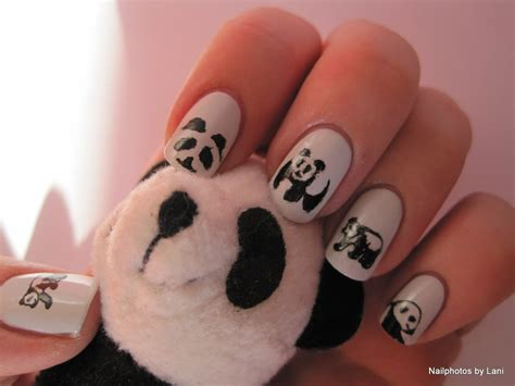 imagenes de uñas decoradas con osos decoraciones de u 241 as de panda youtube
