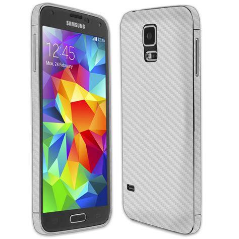 Carbon Samsung Galaxy S5 skinomi techskin samsung galaxy s5 silver carbon fiber