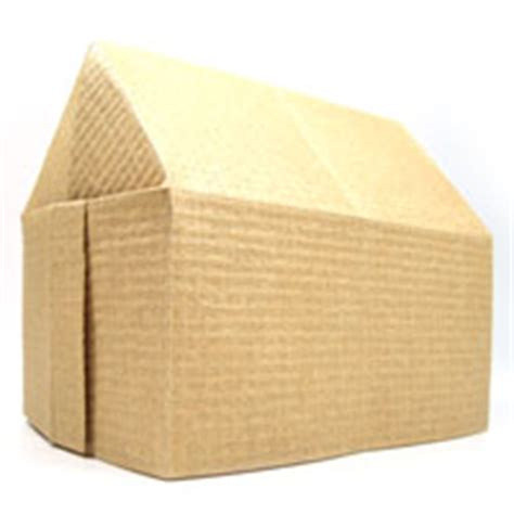 Paper Folding House - how to make origami house