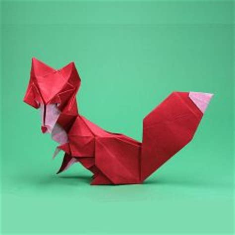 Origami Fox Advanced - pin by woodburn on origami