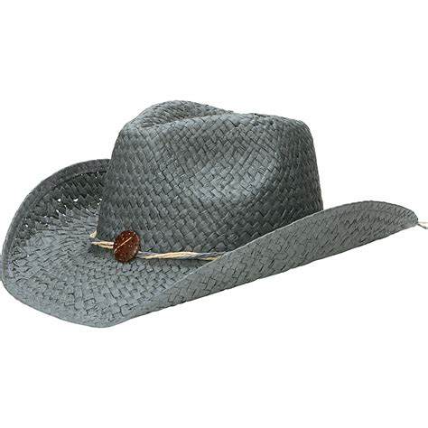 Hat With Paper - san diego hat woven paper cowboy hat with coconut trim