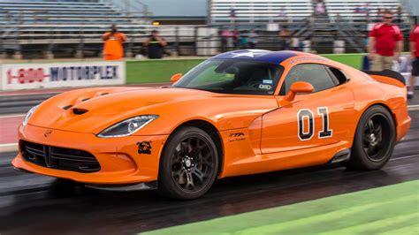 hp general lee viper ta rocks street car takeover dragtimescom drag racing fast cars