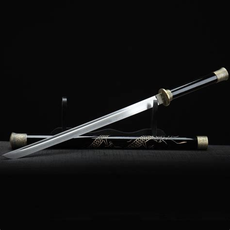 Katana Handmade - katana sword real handmade tang high carbon steel