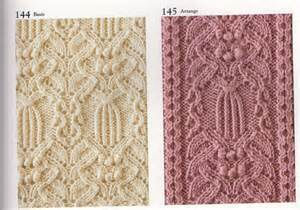 схемы узоры коллекция узоров спицами