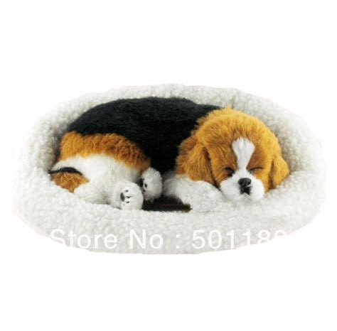 puppy that looks real free shipping sleeping looks real breathing sleeping in stuffed plush