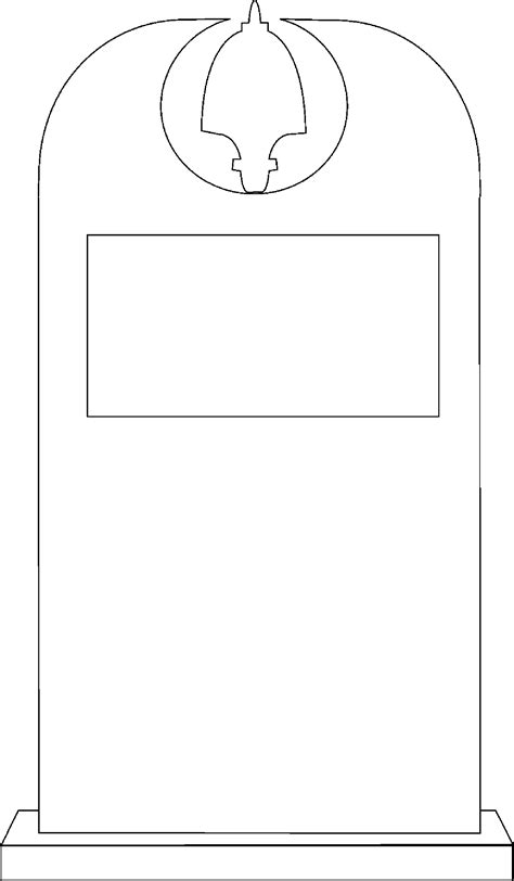 headstone templates free coloring pages of drawings of tombstones
