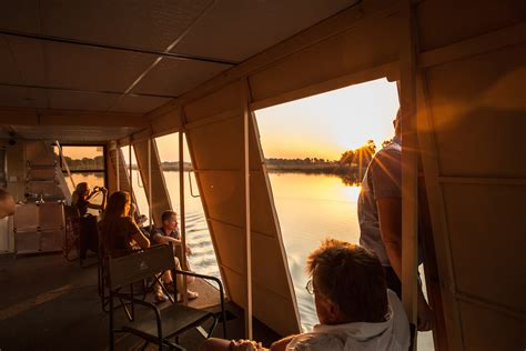boat cruise maun thamalakane river lodge