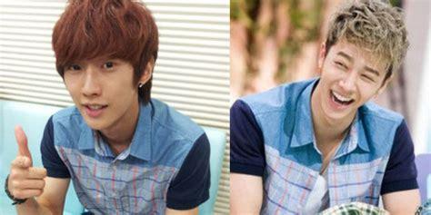 Gi Kaos Sjk Kaos Song Jong Ki ketika jinyoung b1a4 kikwang b2st berkostum sama