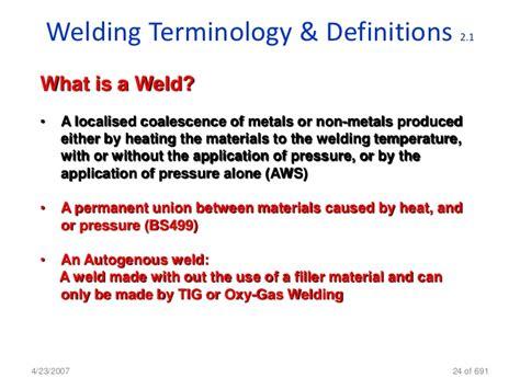 welding bead definition welding inspection cswip